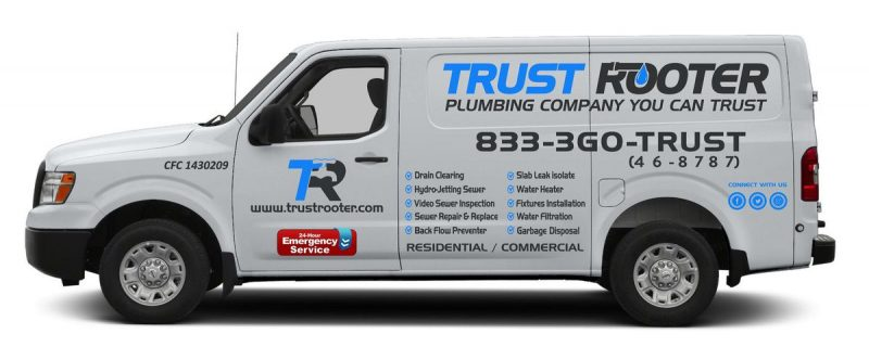 company truck design trust rooter